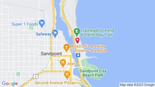 Seasons At Sandpoint Map
