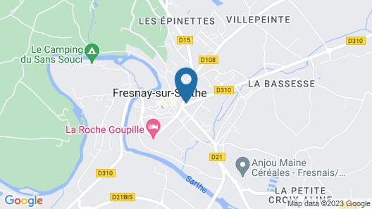 Hôtel Ronsin Map
