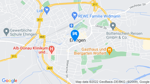 Hotel-Restaurant Gasthof zum Ochsen Map
