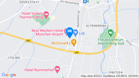 Hotel Apfelbaum Map