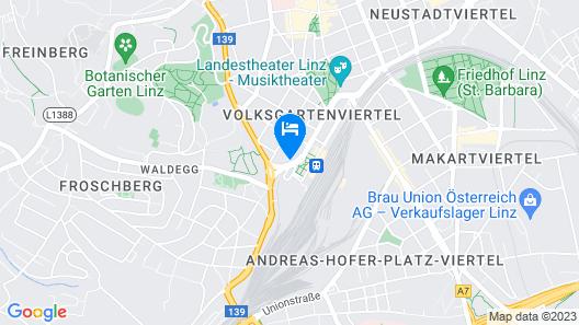 ibis Linz City Map