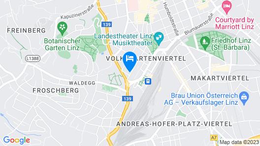 Hotel Lokomotive Map