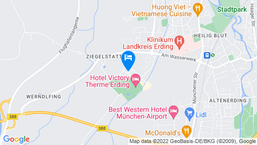 Hotel Victory Therme Erding Map