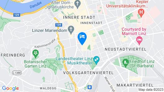 Hotel Kolping Map