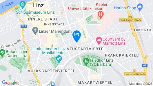 Limehome Linz Schillerstrasse Map