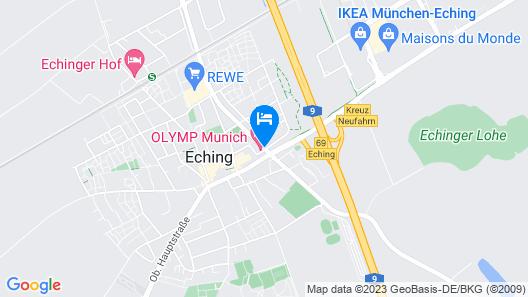 Olymp Munich Map