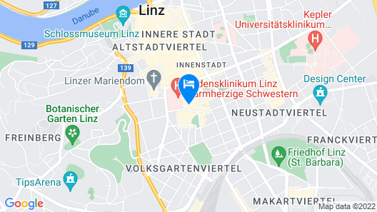 In the Middle of Events in Linz-landstrasse Map