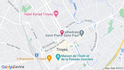 L'Hôtel du Cirque Map