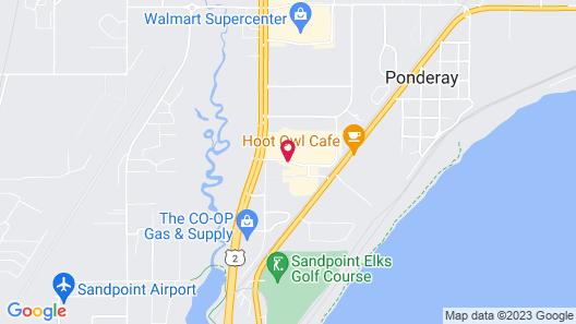 Days Inn by Wyndham Sandpoint Map