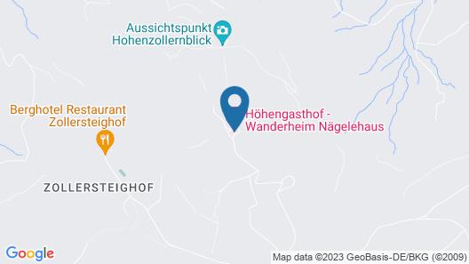 Höhengasthof Wanderheim Nägelehaus Map