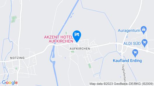 Mercure Hotel Muenchen Airport Aufkirchen Map