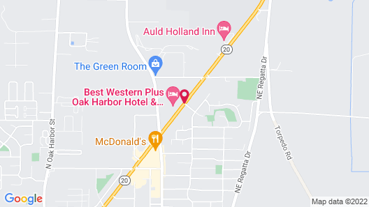 Best Western Plus Oak Harbor Hotel & Conference Center Map