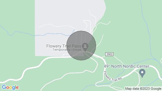 Mountain Cabin Near 49 Degrees North Ski Resort Map