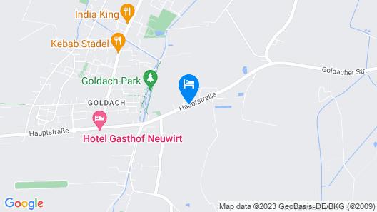 Hotel Daniel's Map