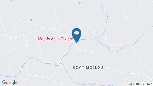 Moulin de la Civiere Map