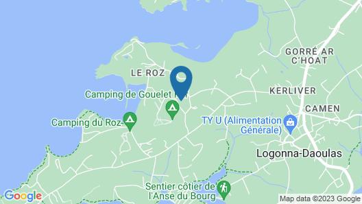 Gouelet-Ker, Ile de Ouessant, Vue Mer Map