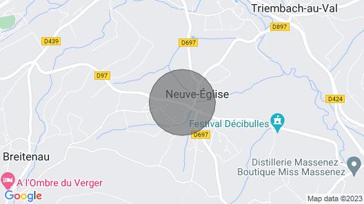 Chez Alice - Gite Alsace Piscine Spa Jacuzzi Map