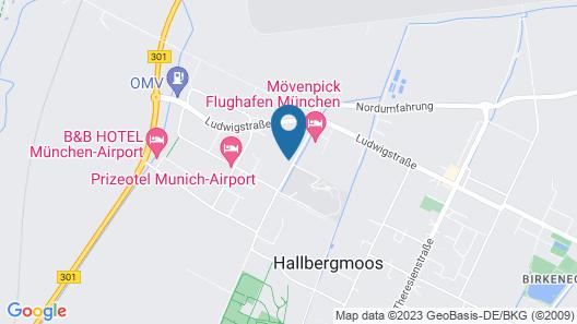Hampton by Hilton Munich Airport South Map