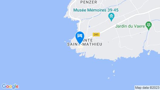 Hôtel Vent d'Iroise Map