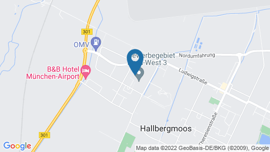 NinetyNine Munich Airport Map