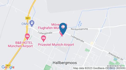 Movenpick Hotel München Airport Map