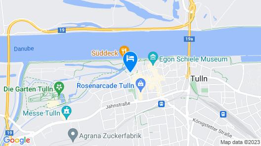 Diamond City Hotel Tulln Map