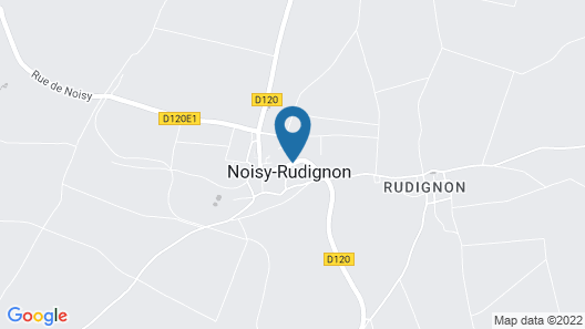 Le Clos de Rudignon Map