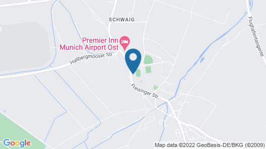 Grand Excelsior Hotel München Airport Map