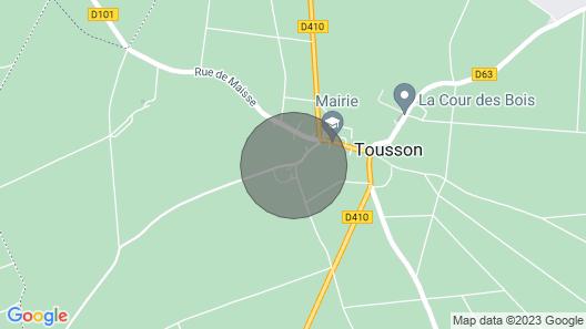 Cottage 77.123 Préaux Map