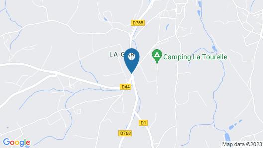 Camping La Tourelle Map
