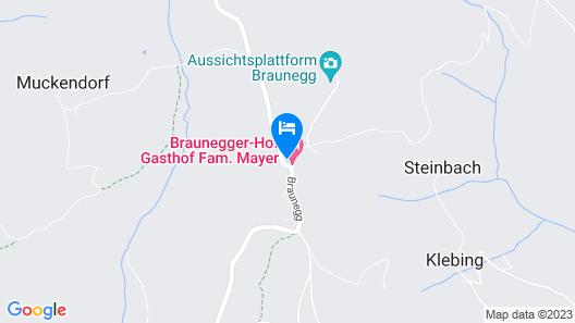 Brauneggerhof Gästehaus Inge Map