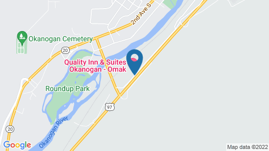 Quality Inn & Suites Okanogan - Omak Map