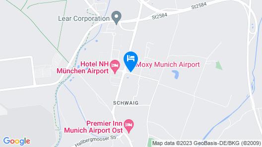 MOXY Munich Airport Map