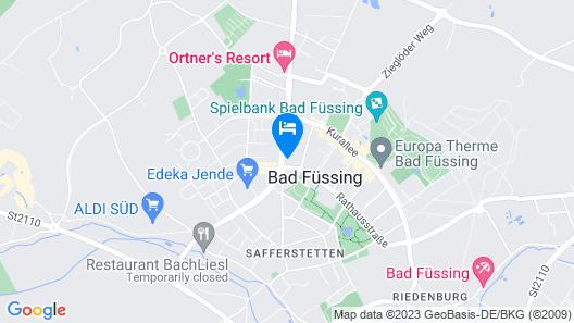Hotel Dein Franz Map