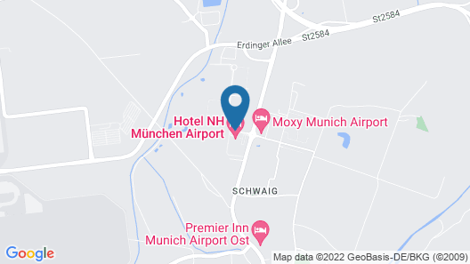 NH München Airport Map