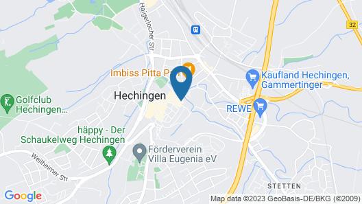 Hotel Hechinger- Hof Map