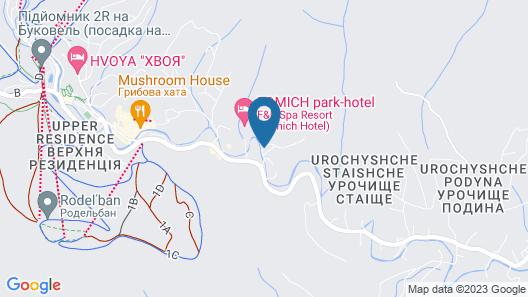 Radisson Blu Resort Bukovel Map