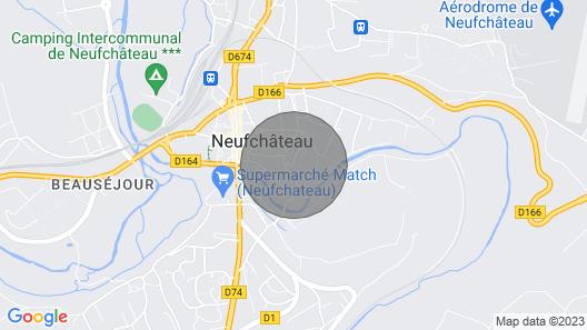 Appartement Centre Historique Neufchâteau Map