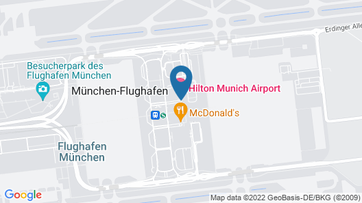 Hilton Munich Airport Map