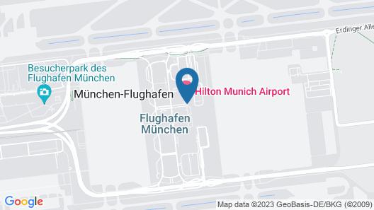 Hilton Munich Airport Map