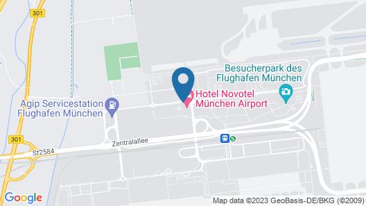 Novotel München Airport Map