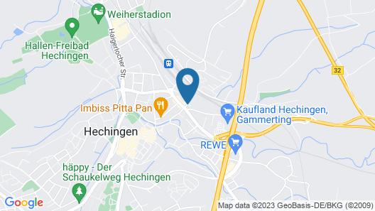 Garni-Hotel Unsere Stadtvilla Map