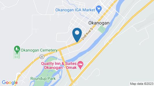 Blue Mountain Motel Map