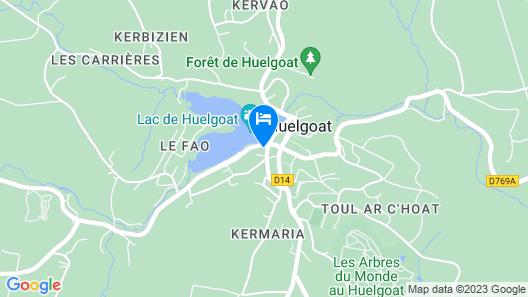 Logis Hotel Du Lac Map