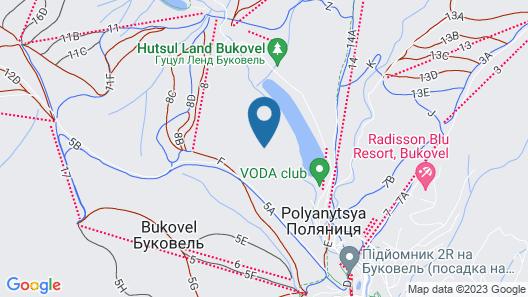 VIP-Aparts Bukovel Map