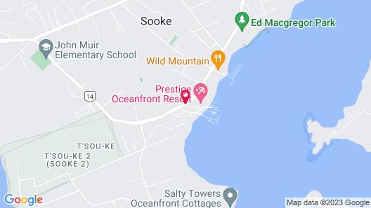 Prestige Oceanfront Resort, BW Premier Collection Map