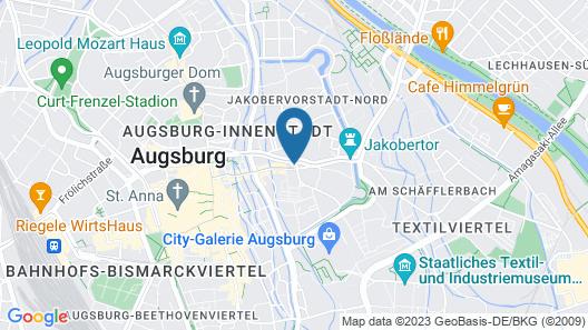 Hotel Jakoberhof Map