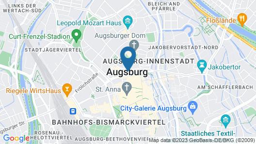 Hotel Garni Augusta Map
