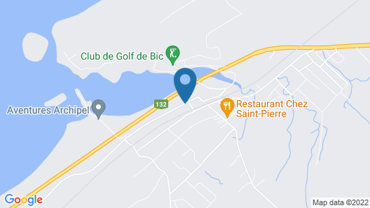 Auberge du Mange Grenouille Map