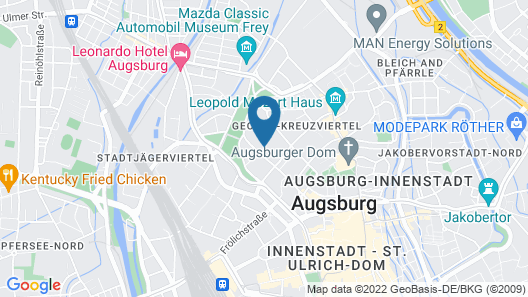 Limehome Augsburg Map